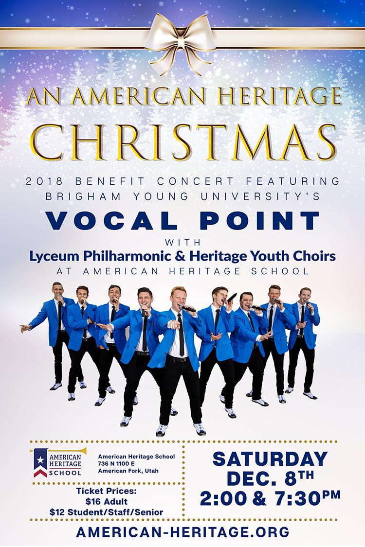 An American Heritage Christmas – Dec. 8